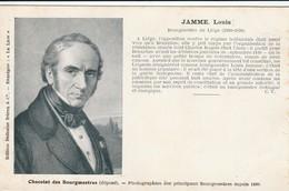 LIEGE BOURGMESTRE LOUIS JAMME - Liege