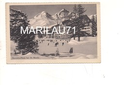 P1012 SVIZZERA SUVRETTA HAUS ST MOTITZ 24339 Non Viaggiata - Svizzera