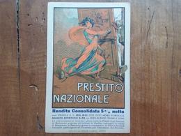 REGNO - Cartolina Prestito Nazionale Non Scritto + Spese Postali - 1900-44 Vittorio Emanuele III