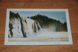 3109-         CANADA, QUEBEC, MONTMORENCY FALLS - Montmorency Falls