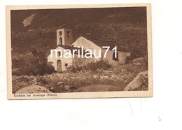 P1018 Svizzera ANDERGIA MISOX GRAUBUNDEN NON Viaggiata - Svizzera