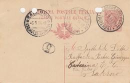 Lagonegro. 1914. Annullo Guller LAGONEGRO POSTE (POTENZA),  Su Cartolina Postale - Storia Postale