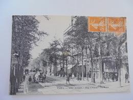 CARTE POSTALE PARIS XIV ARRONDISSEMENT RUE D'ALESIA - Arrondissement: 14
