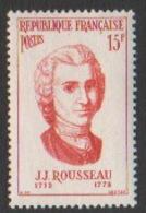 France Neuf Sans Charnière  1956  Célébrité Littérature Philosophe Ecrivain  YT 1084 - Frankreich