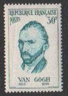 France Neuf Sans Charnière  1956  Célébrité Peinture Peintre Vincent Van Gogh Portrait   YT 1087 - Frankreich