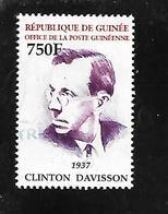 TIMBRE OBLITERE DE GUINEE DE 2002 N° MICHEL 3831 - Guinea (1958-...)