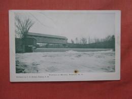Runnell's Covered Bridge  New Hampshire > Nashua  Ref 3935 - Nashua