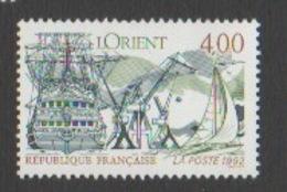 France Neuf Sans Charnière  1992 Série Touristique Ville Lorient Bretagne  Bateau Voilier  YT 2765 - Francia