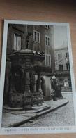 CPA - OBERNAI  -Vieux Puits 1579 Et Hôtel De Ville - Obernai