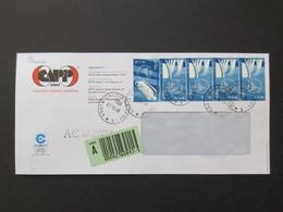 Storia Postale 2006, Olimpiadi Di Torino 2006, Assicurata 5,30 Euro, Sport, Olimpiadi (Re)A1 - Inverno2006: Torino