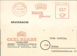 13a Nürnberg Braun Cameras 1960 - BRD