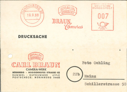 13a Nürnberg Braun Cameras 1960 - [7] République Fédérale