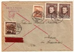 Austria Express 20/XI/47  D901 - 1945-.... 2. Republik