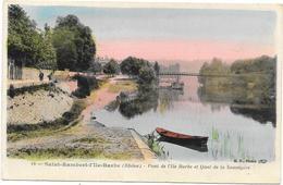 SAINT RAMBERT L'ILE BARBE : PONT DE L'ILE BARBE - Autres Communes