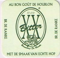 Sous-bock - Brasserie De Ranke - Brouwerij De Ranke - XX Bitter - - Sous-bocks