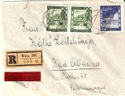 Austria Reco Express 12/I/1947  D1005 - 1945-.... 2. Republik