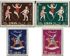 Ref. 73964 * MNH * - LIBAN. 1964. CHILDREN'S GAMES . JUEGOS INFANTILES - Lebanon