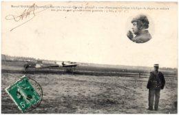 Marcel HANRIOT - Monoplan Hanriot - Aviateurs