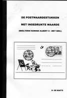 Belgie 2000 Catalogus H. De Baets Postwaardestukken Met Ingedrukte Waarde Albert II MVTM 28 Pag. - Tarjetas Ilustradas