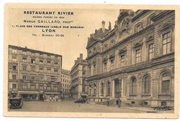 LYON : RESTAURANT RIVIER - Lyon