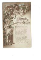 Cpa -  Litanies Des Garçons à Marier - Saint NICOLAS JEAN BERNARD MICHEL EMILE ALEXIS DENIS - Rex 4461 - Mariée - Noces