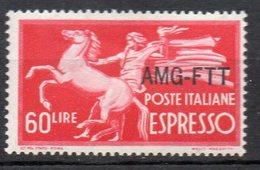 1950 Trieste A - Espresso N. 6 Integro MNH** - 7. Trieste