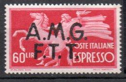 1947 Trieste A - Espresso N 4 Nuovo MLH* - 7. Trieste