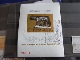 ✅ Roumanie 1975 Belle Bloc Europe Non Dentelee Forte Cote (o) [000342] - Blocks & Sheetlets