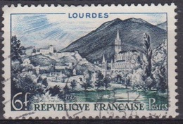 1954 - Sites Touristiques - FRANCE - Lourdes - N° 976 - Used Stamps