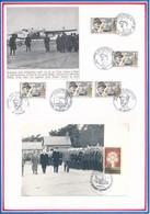 FRANCE - CARTE OBLITERATION L'APPEL  18.06.1988 COLOMBEY LES DEUX EGLISES + PHOTO GENERAL LECLERC - Guerre Mondiale (Seconde)