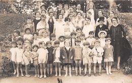¤¤  -  SAINT-HONORE-les-BAINS    -  Carte-Photo D'un Groupe D'Enfants Dans Un Parc En 1928      -  ¤¤ - Saint-Honoré-les-Bains