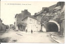 LES PENNES MIRABEAU. ENTREE DU TUNNEL - France