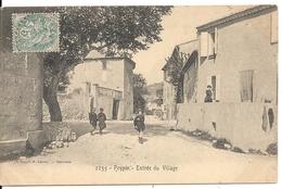 PEYPIN. ENTREE DU VILLAGE - Autres Communes