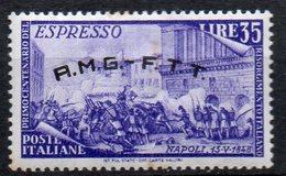 1948 Trieste A - Espresso Risorgimento N. 5 Nuovo MLH* - 7. Trieste