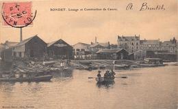 ¤¤  -   NANTES   -   RONDET   -  Louage Et Construction De Canots    -   ¤¤ - Nantes