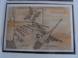 ✅ Maledives 1992 - Mysteres De L'Universe BF  ** MNH  [000364] - Maldives (1965-...)