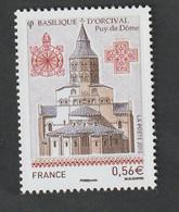 """TIMBRE -  2010  -  Série Touristique , Basilique D'Orcival   -   N° 4446   -   """" édifice""""    Neuf Sans Charnière - Nuovi"""