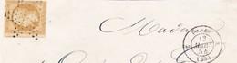 N° 13A    ETOILE DE PARIS MUETTE + CACHET 1345 - PARIS 2  (60)  2  - 12 MARS 1854  - REF 9633 - 1853-1860 Napoléon III