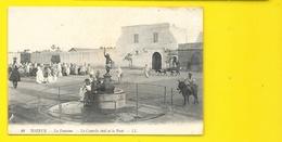 TOZEUR La Fontaine Contrôle Civil Et La Poste (LL) Tunisie - Tunisie