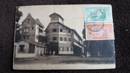 CPA CONAKRY GRAND HOTEL TIMBRES COTE D IVOIRE 1918 ? - Costa De Marfil