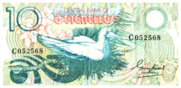 Billet > Seychelles > 10 Rupees - Seychellen