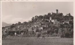 Villeneuve Loubet - Le Village Et Le Château - Autres Communes