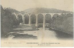 HERBEUMONT : Pont Du Chemin De Fer - Cachet De La Poste 1904 - Herbeumont