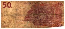 Billet > Congo  > 50 Francs - Unclassified