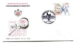 RC 16238 MONACO 2003 ARAM KHATCHATURIAN FDC 1er JOUR TB - FDC