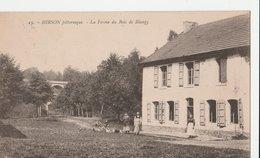 HIRSON Pittoresque (02). La Ferme Du Bois De Blangy, Animée, Volailles. - Hirson