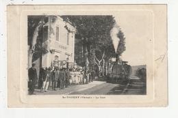 SAINT THIBERY - LA GARE - TRAIN - 34 - Sonstige Gemeinden