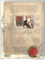 Belg. 2016 - COB N° 4599 à 4600 ** - La Magna Carta  (bloc 237) - Belgium