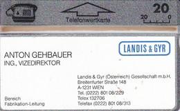 ÖSTERREICH-Visitenkarte-112 L - Austria