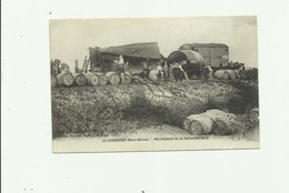 79 - LA CHARRIERE - Deraillement Du 22 Septembre 1909 Animé Nombreux Futs Bon état - Altri Comuni